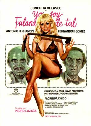 Yo soy Fulana de Tal - Spanish Movie Poster (thumbnail)