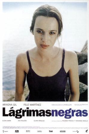 Lágrimas negras - Spanish Movie Poster (thumbnail)