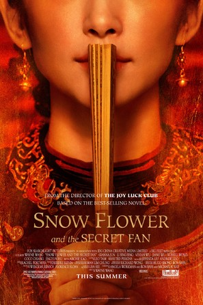 Snow Flower and the Secret Fan - Movie Poster (thumbnail)