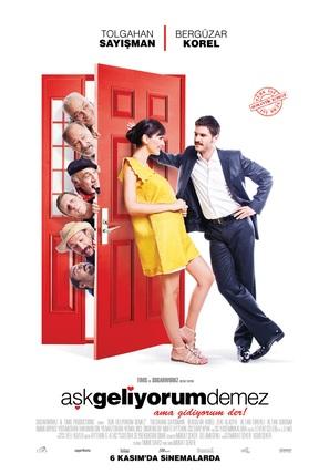 Ask geliyorum demez - Turkish Movie Poster (thumbnail)