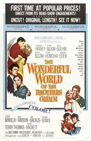 The Wonderful World of the Brothers Grimm - Movie Poster (thumbnail)