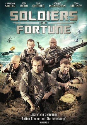 Soldiers of Fortune - German Movie Poster (thumbnail)