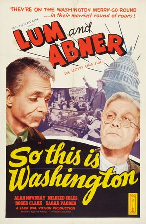 So This Is Washington - Movie Poster (thumbnail)
