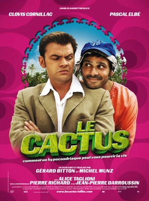 Cactus, Le - French Movie Poster (thumbnail)