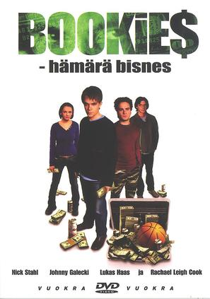 Bookies - Finnish DVD cover (thumbnail)