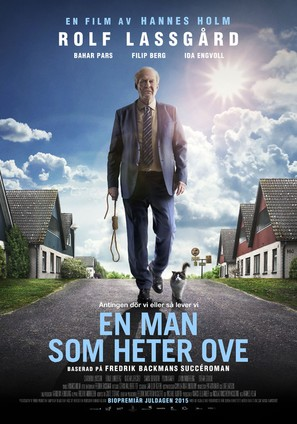 En man som heter Ove - Swedish Movie Poster (thumbnail)