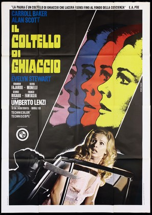 Il coltello di ghiaccio - Italian Movie Poster (thumbnail)