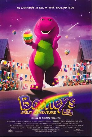 Barney's Great Adventure - Movie Poster (thumbnail)