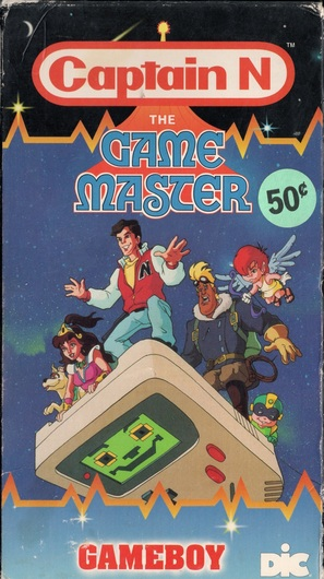 """""""Captain N: The Game Master"""" - VHS movie cover (thumbnail)"""