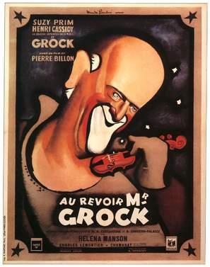 Au revoir M. Grock - French Movie Poster (thumbnail)