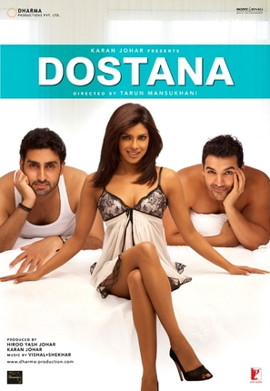 Dostana - Indian Movie Poster (thumbnail)