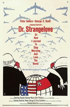 Dr. Strangelove - Movie Poster (thumbnail)