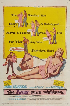 The Fuzzy Pink Nightgown - Movie Poster (thumbnail)