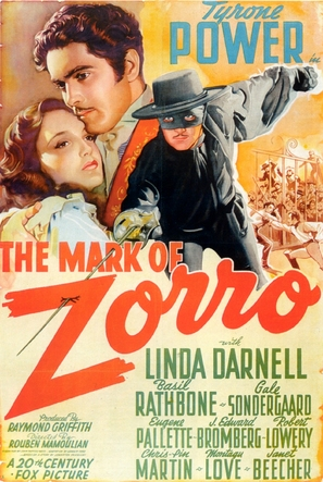 The Mark of Zorro - Movie Poster (thumbnail)