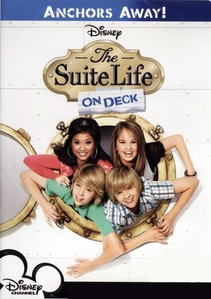 """""""The Suite Life on Deck"""" - DVD movie cover (thumbnail)"""