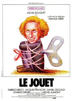 Le jouet - French Movie Poster (thumbnail)