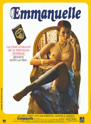 Emmanuelle - French Movie Poster (thumbnail)