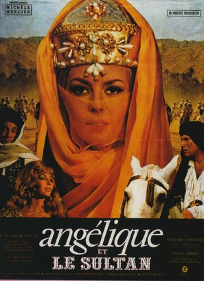 Angélique et le sultan - French Movie Poster (thumbnail)