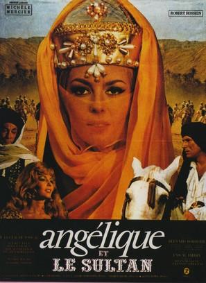 Angélique et le sultan - French Movie Poster (thumbnail)
