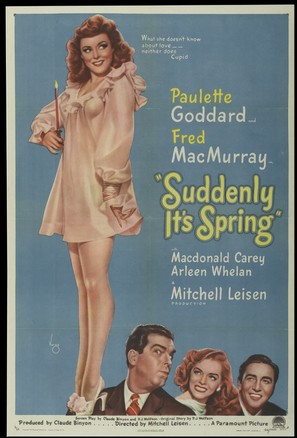 Suddenly, It's Spring - Movie Poster (thumbnail)