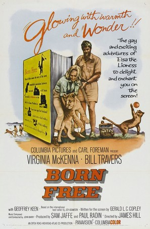 Born Free - Movie Poster (thumbnail)