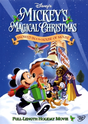 Mickey's Magical Christmas: Snowed in at the House of Mouse - DVD movie cover (thumbnail)