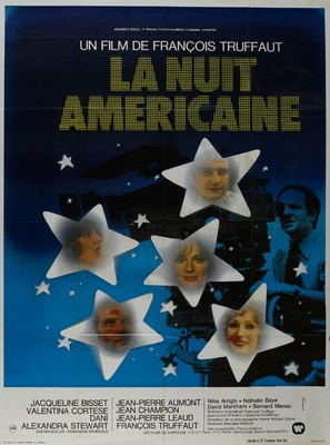 La nuit américaine - French Movie Poster (thumbnail)