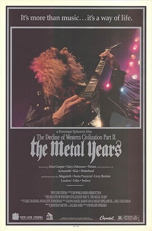 The Decline of Western Civilization Part II: The Metal Years - Movie Poster (thumbnail)