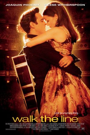 Walk the Line - Theatrical movie poster (thumbnail)