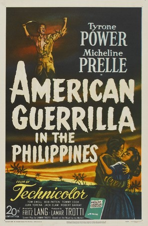 American Guerrilla in the Philippines - Movie Poster (thumbnail)