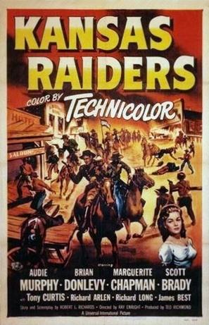 Kansas Raiders - Movie Poster (thumbnail)
