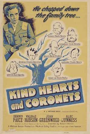 Kind Hearts and Coronets - Movie Poster (thumbnail)