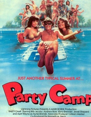 Party Camp - Movie Poster (thumbnail)