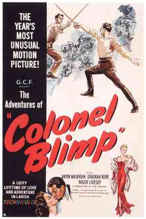 The Life and Death of Colonel Blimp - Movie Poster (thumbnail)