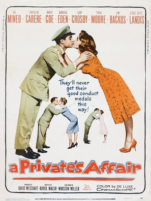 A Private's Affair - Movie Poster (thumbnail)
