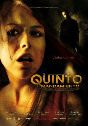El quinto mandamiento - Mexican Movie Poster (thumbnail)