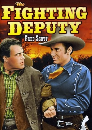 The Fighting Deputy - DVD cover (thumbnail)