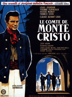 Le comte de Monte Cristo - French Movie Poster (thumbnail)