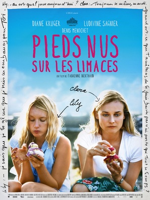 Pieds nus sur les limaces - French Movie Poster (thumbnail)
