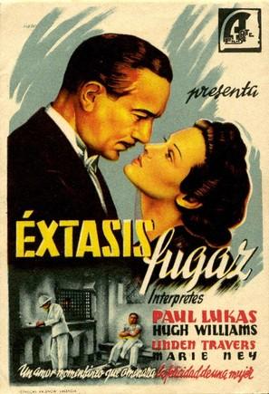Brief Ecstasy - Spanish Movie Poster (thumbnail)