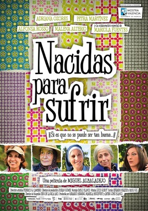 Nacidas para sufrir - Spanish Movie Poster (thumbnail)