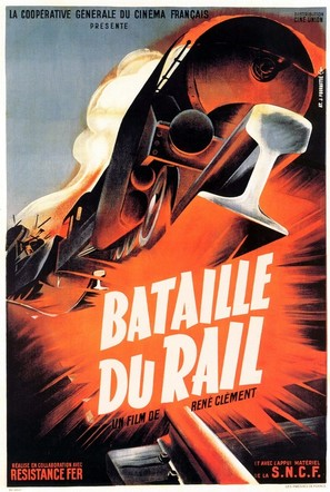 La bataille du rail - French Movie Poster (thumbnail)