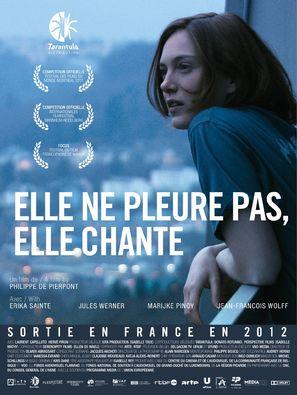 Elle ne pleure pas, elle chante - French Movie Poster (thumbnail)