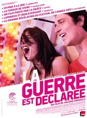 La guerre est déclarée - French Movie Poster (thumbnail)