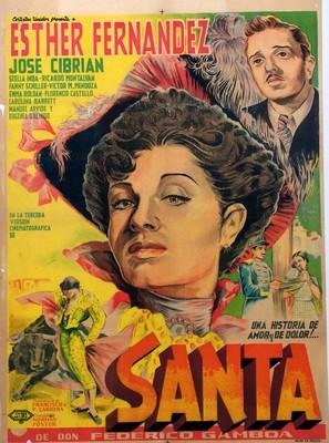 Santa - Mexican Movie Poster (thumbnail)