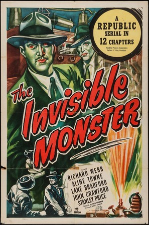 The Invisible Monster - Movie Poster (thumbnail)