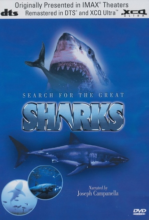 Search for the Great Sharks - DVD movie cover (thumbnail)