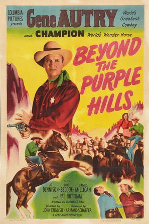 Beyond the Purple Hills - Movie Poster (thumbnail)