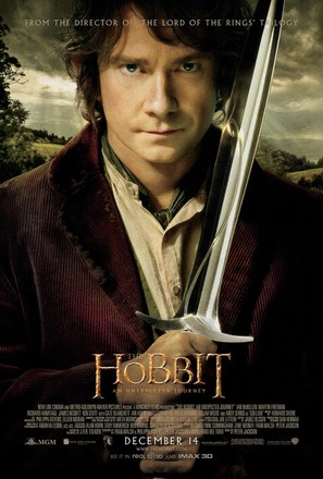 The Hobbit: An Unexpected Journey - Movie Poster (thumbnail)
