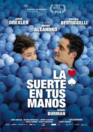 La suerte en tus manos - Spanish Movie Poster (thumbnail)